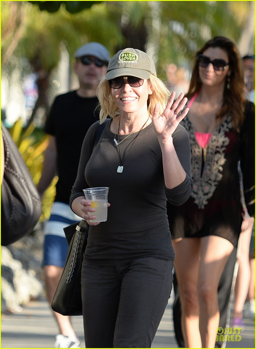 chelsea handler black bra in sheer top 10