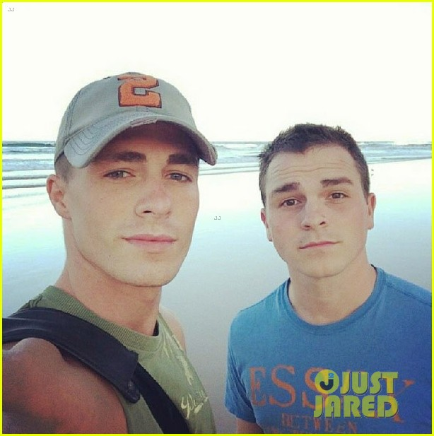 colton haynes giant pecs take over this shirtless pic 11