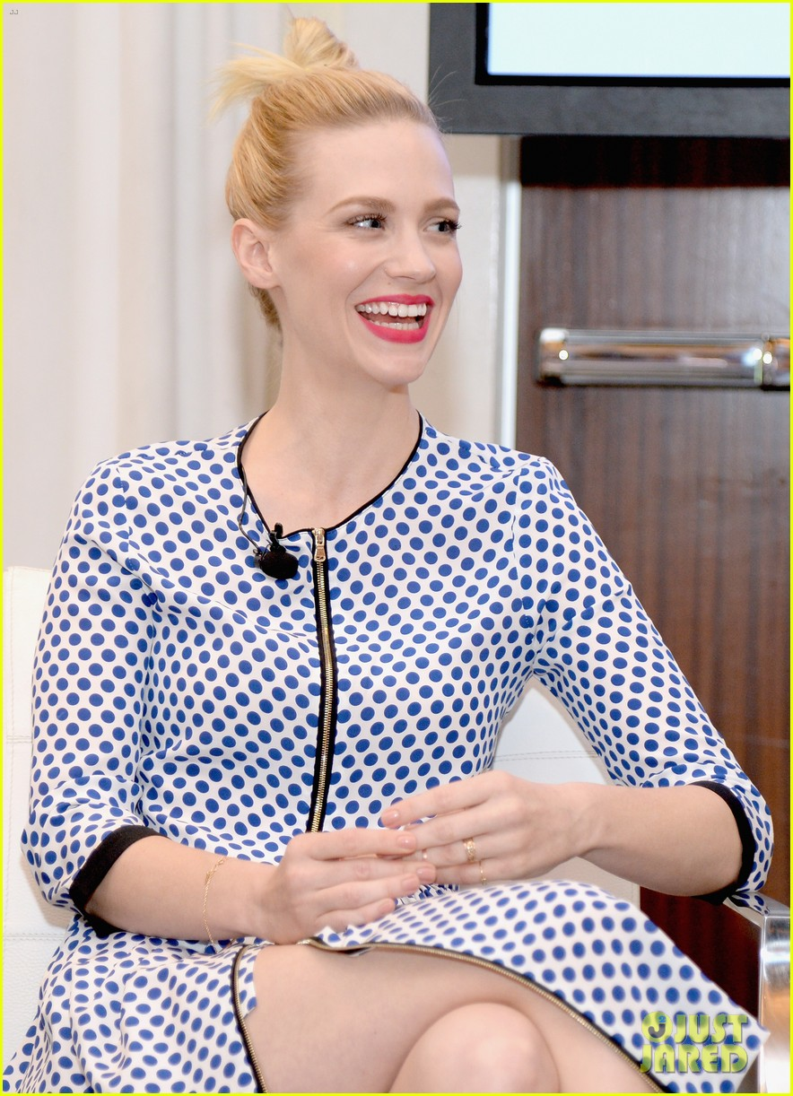 january jones nicole richie lucky fabb conference 04