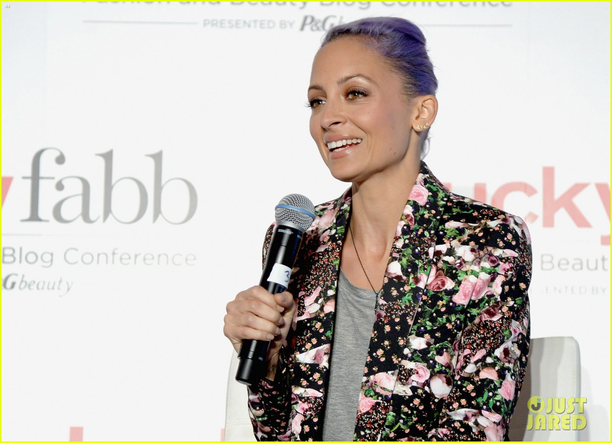 january jones nicole richie lucky fabb conference 113084725