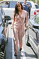 kim kardashian rocks pink jumpsuit with totally sheer back 12
