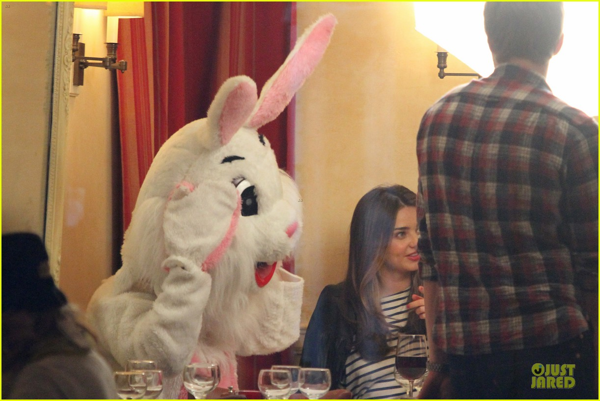 miranda kerr date for commercial is bunny 13