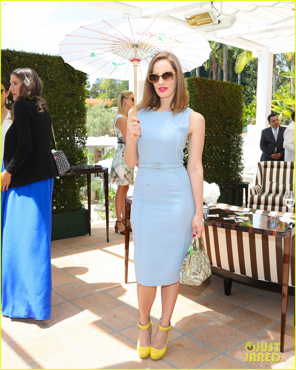 jaime king birthday carolina herrera luncheon 08