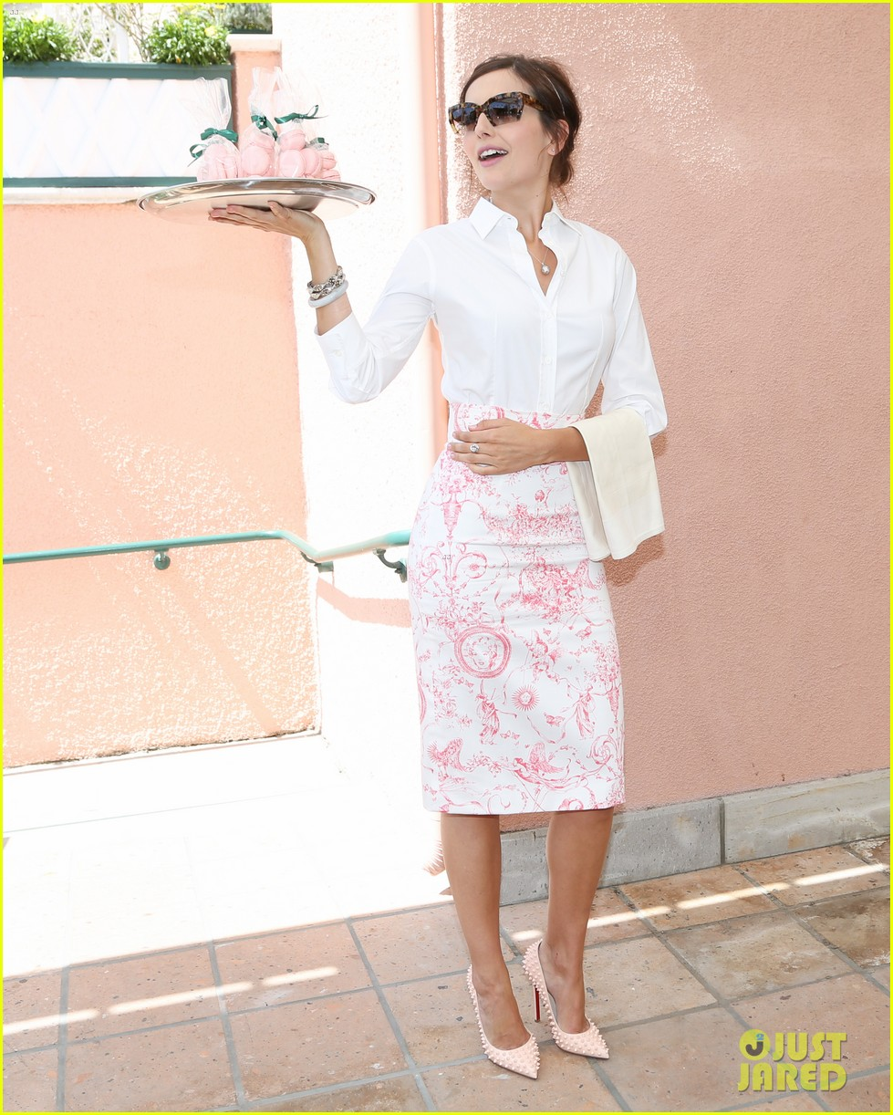 jaime king birthday carolina herrera luncheon 23
