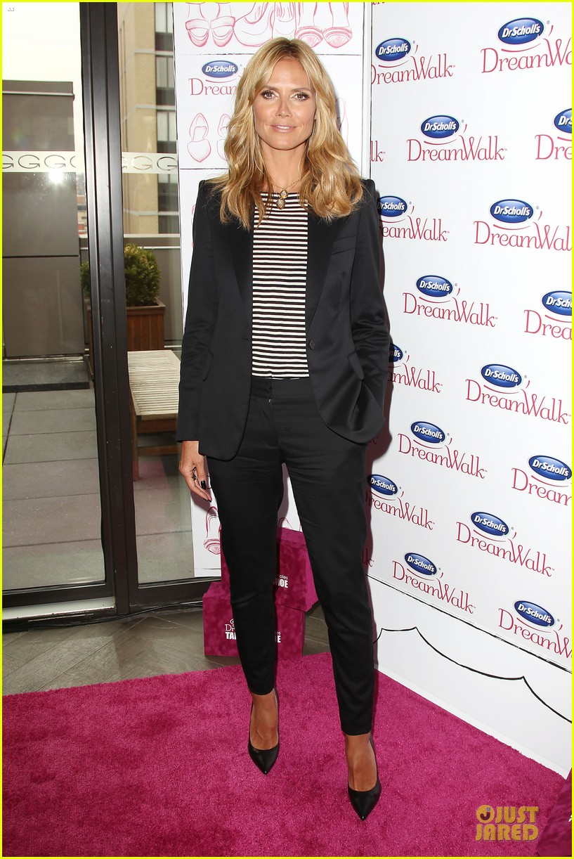 heidi klum dr scholl dreamwalk line meet needs 033083536