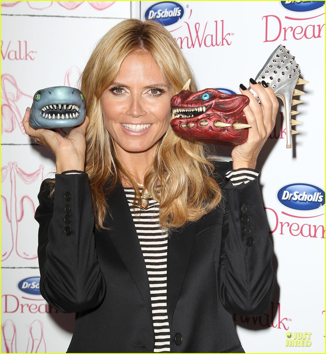 heidi klum dr scholl dreamwalk line meet needs 08