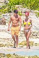 heidi klum goes topless at beach vito schnabel 03