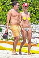 heidi klum goes topless at beach vito schnabel 05