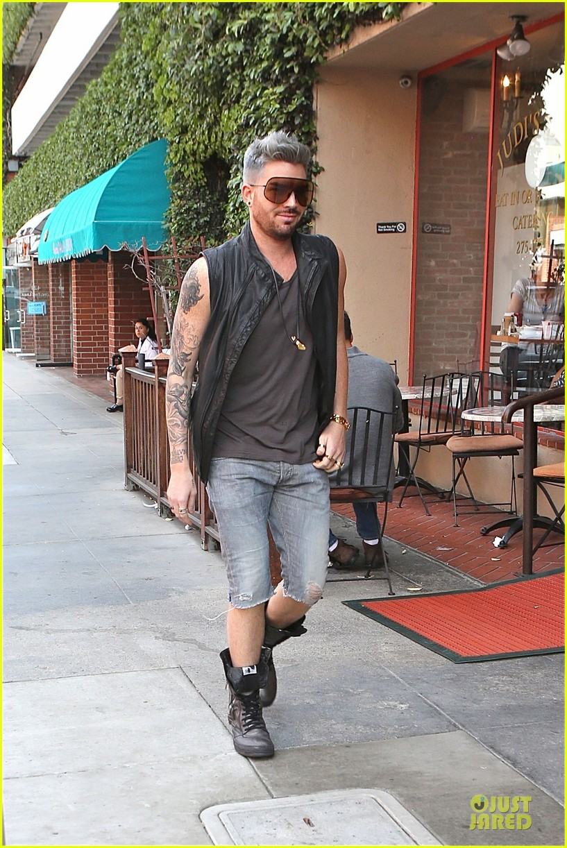 adam lambert tattooed guns sight you can miss 043096556