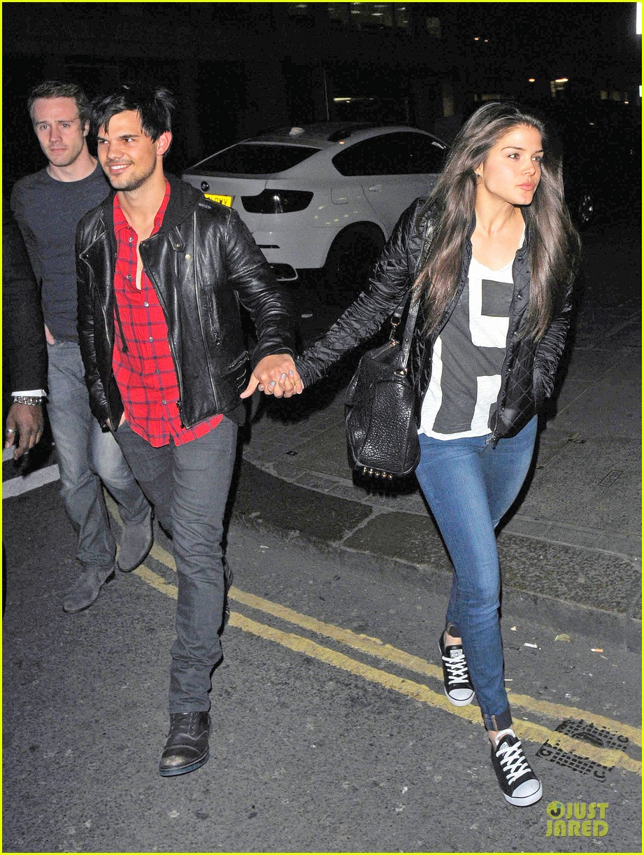 taylor lautner marie avgeropoulos inseparable london 13