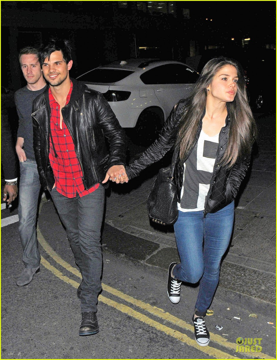 taylor lautner marie avgeropoulos inseparable london 143092538