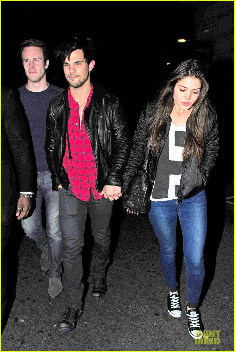 taylor lautner marie avgeropoulos inseparable london 193092543