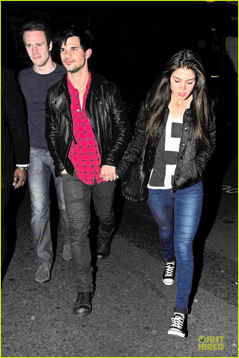 taylor lautner marie avgeropoulos inseparable london 223092546