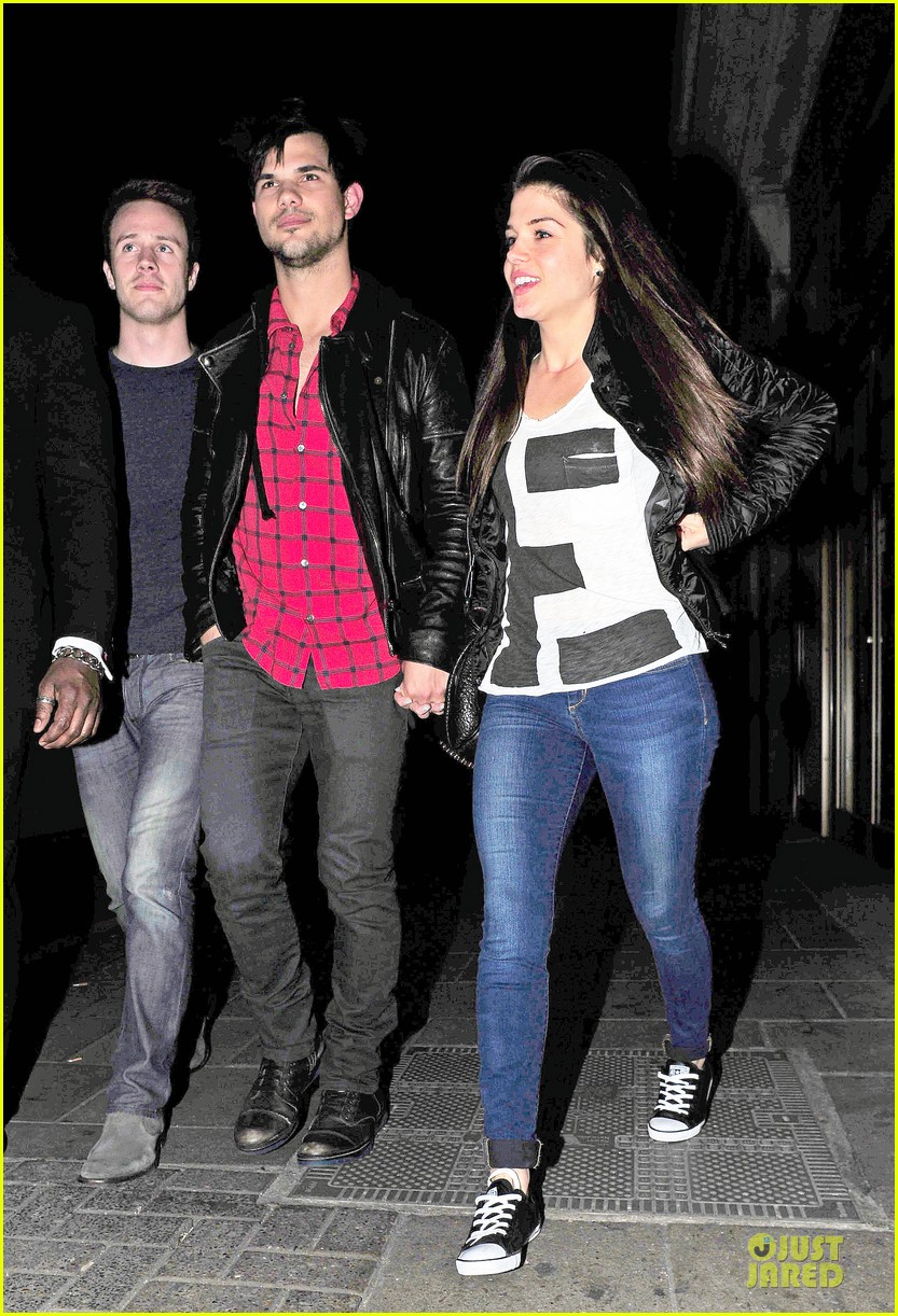taylor lautner marie avgeropoulos inseparable london 263092550