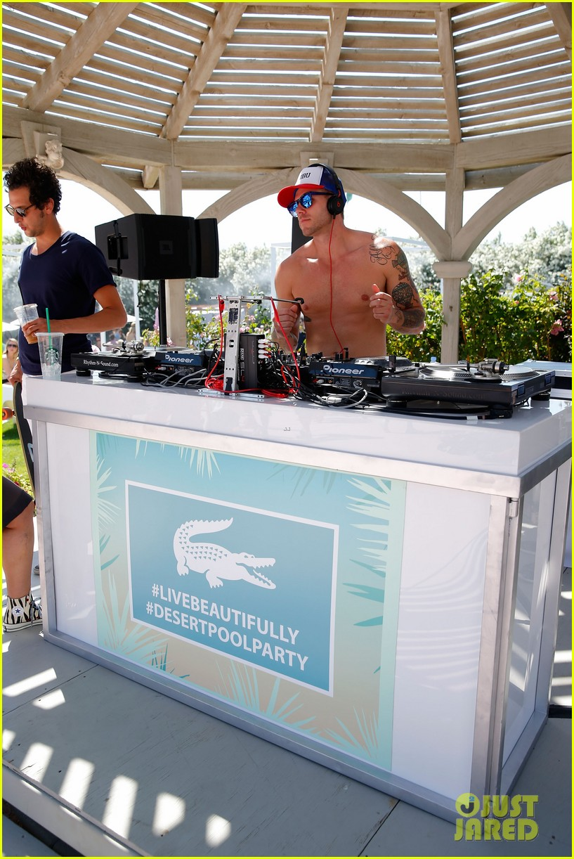 logan lerman miles teller lacoste coachella pool party 033089966
