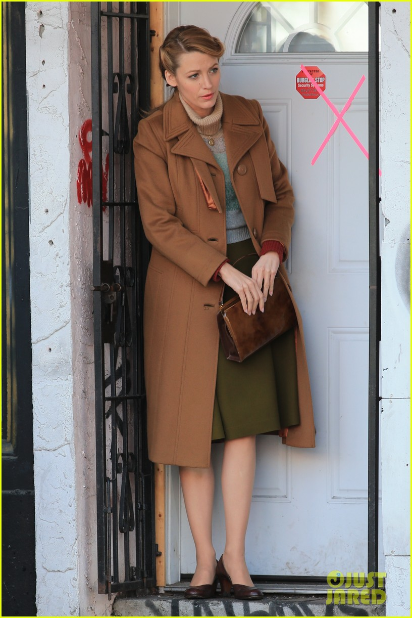 blake lively back at work on age of adaline after injury 06