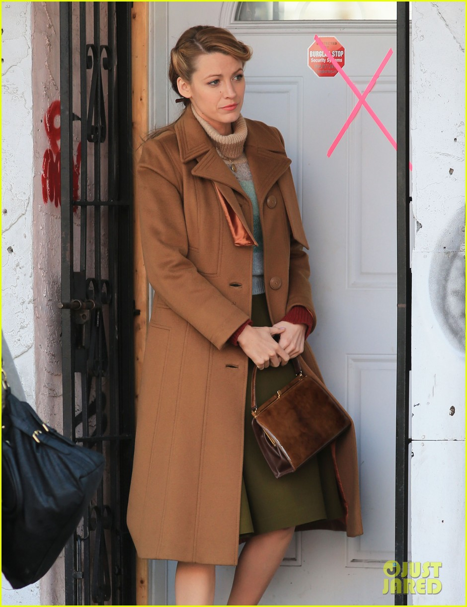 blake lively back at work on age of adaline after injury 07