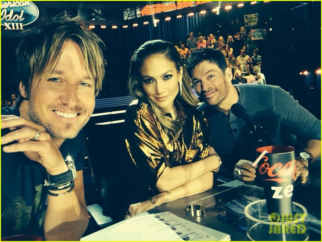 jennifer lopez keith urban welcome grumpy cat to idol 04