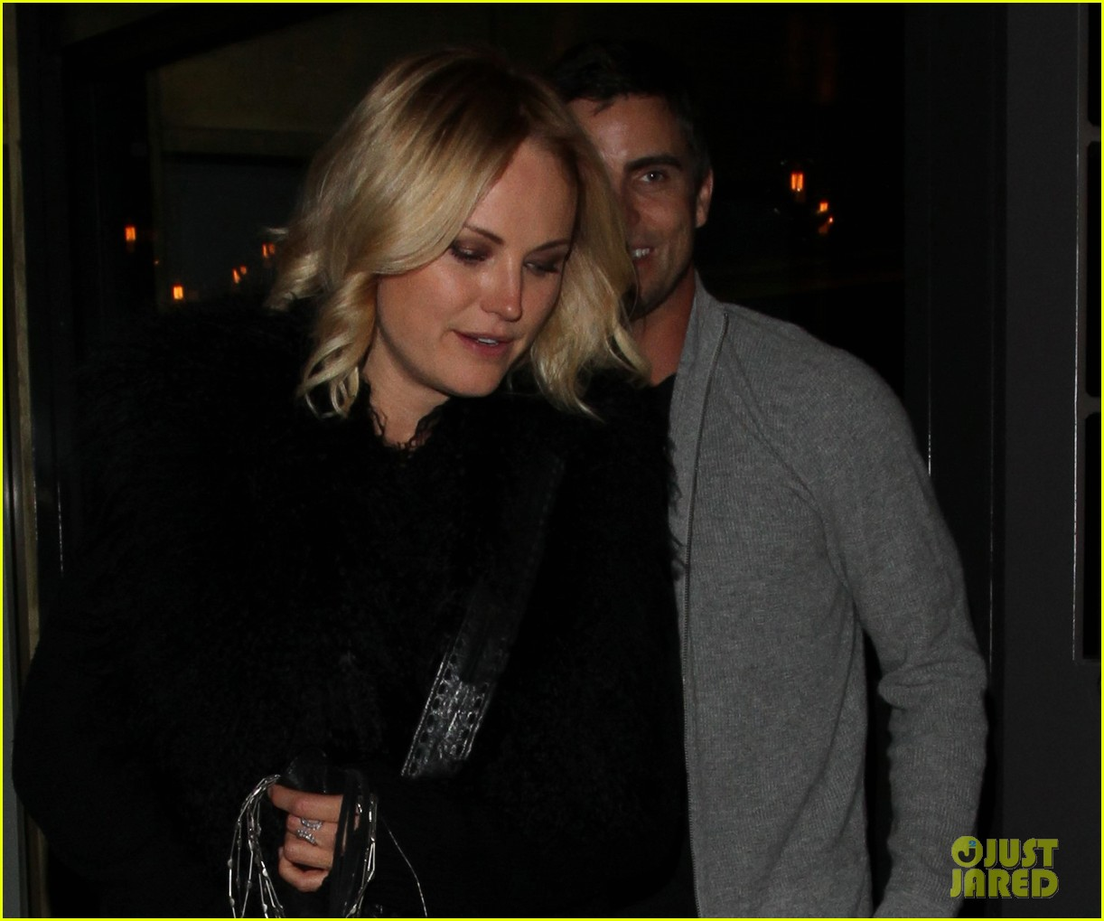 Full Sized Photo of malin akerman colin egglesfield go out ... Malin Akerman Married