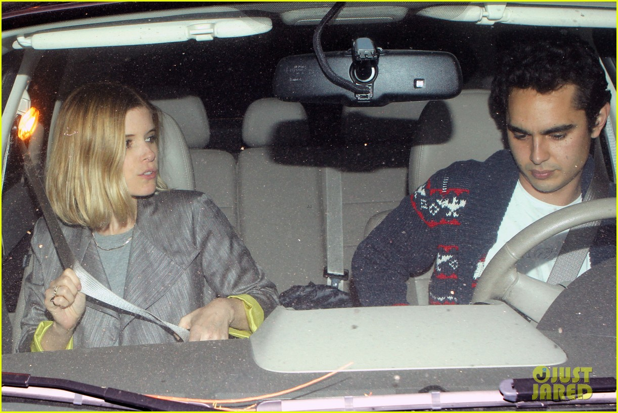 kate mara holds hands with boyfriend max minghella dinner 103097658
