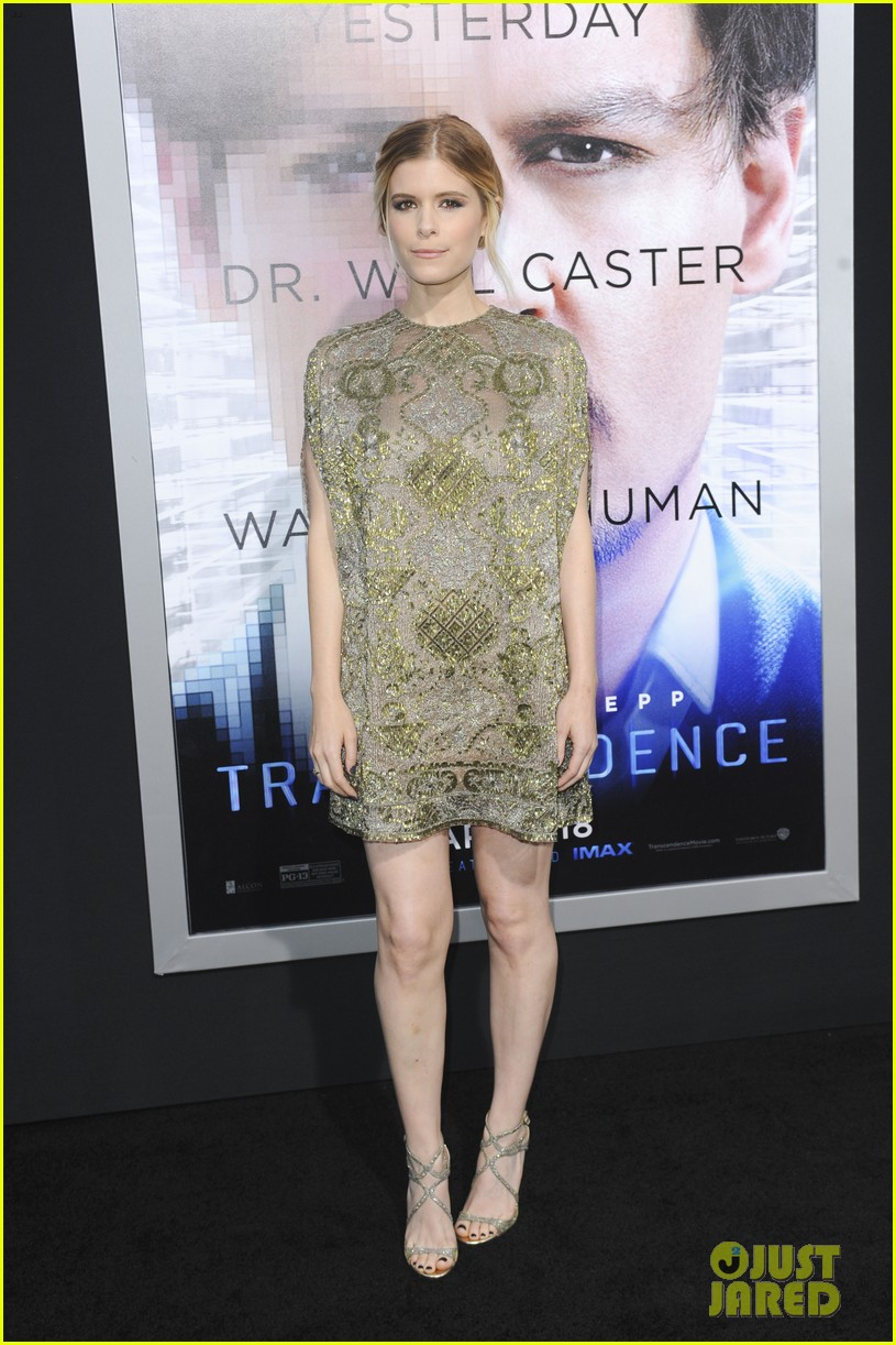 kate mara paul bettany transcendence premiere 143088878