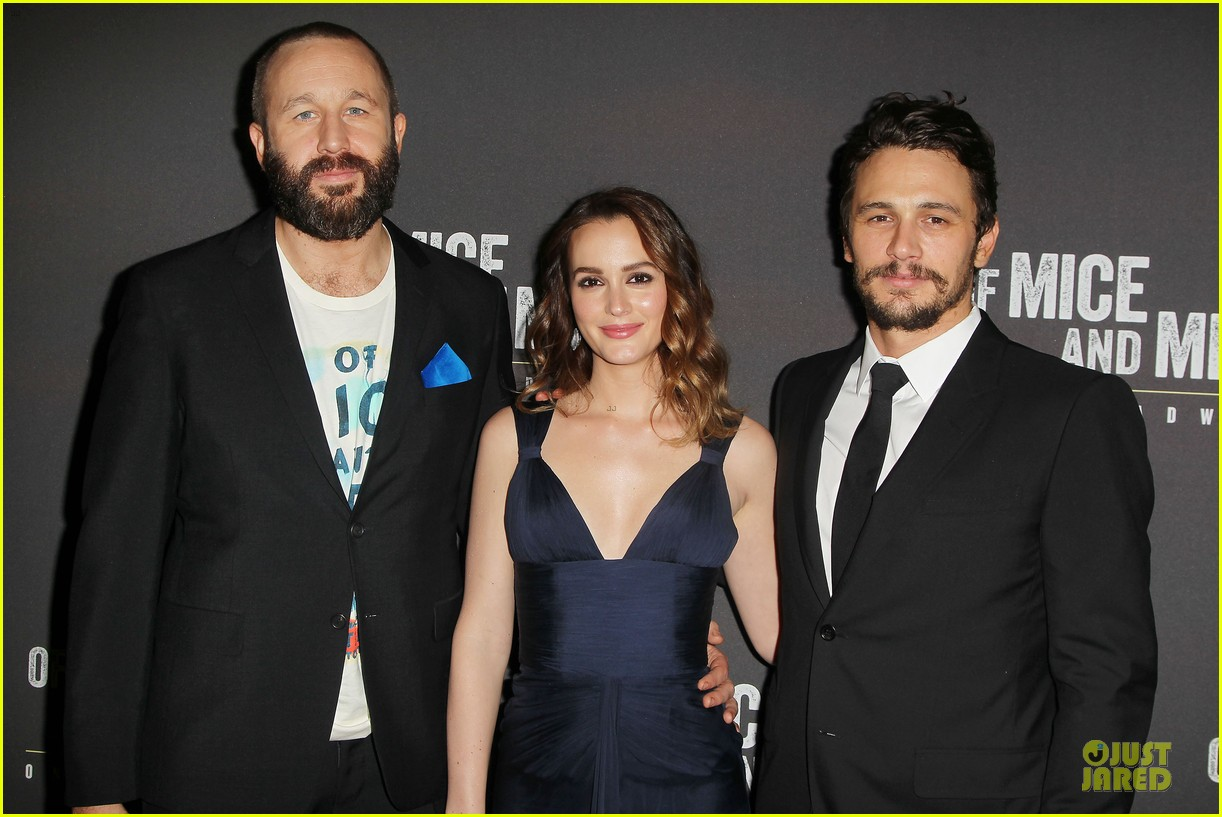 leighton meester james franco of mice men after party 02