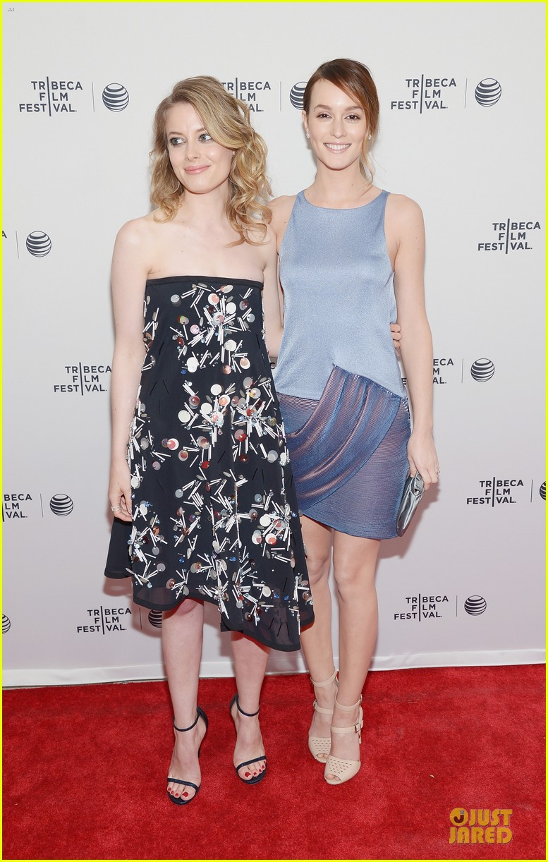 leighton meester life partners at tribeca premiere 01