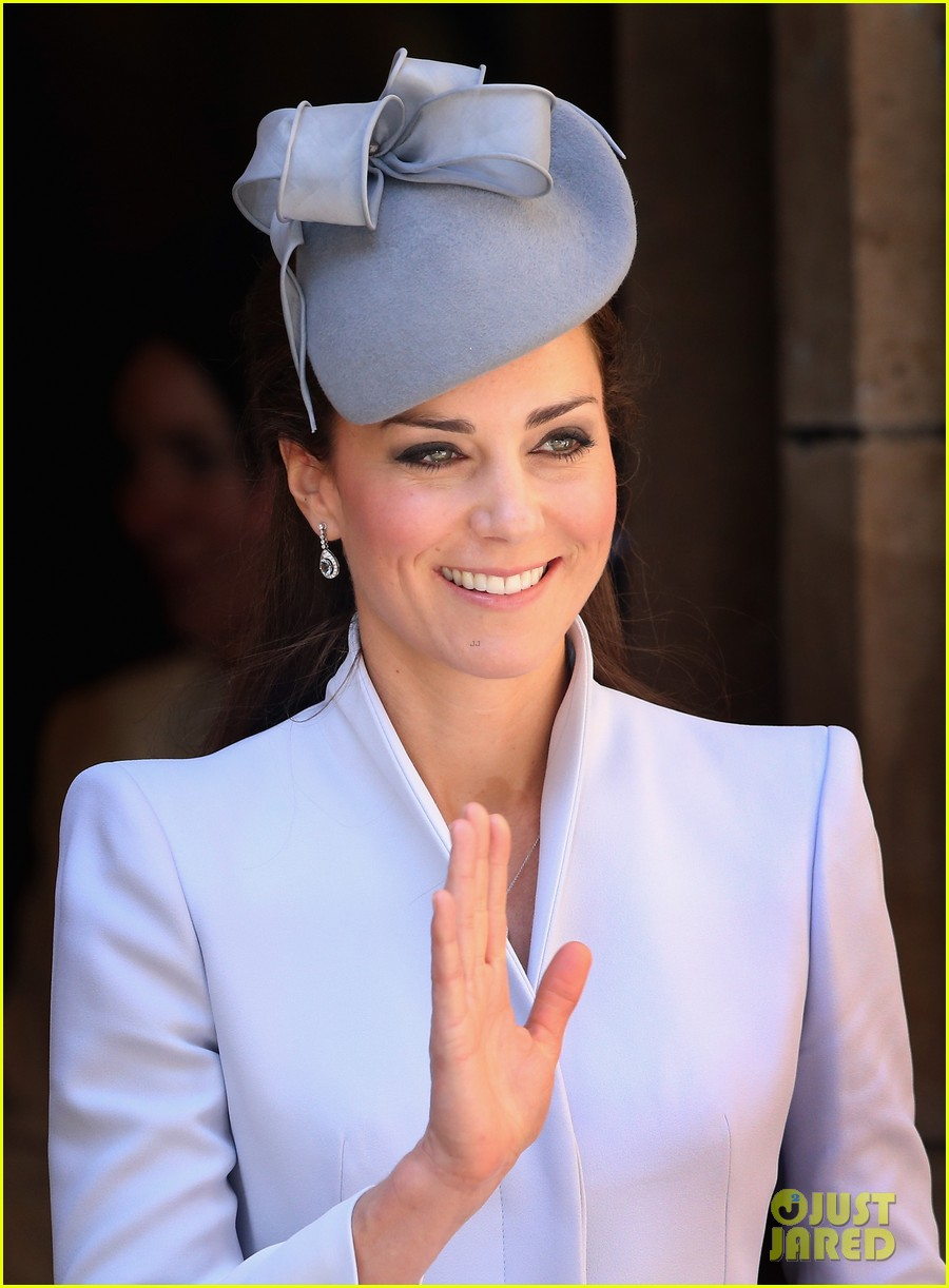 kate middleton definitely wins easter sunday best dressed 143095370
