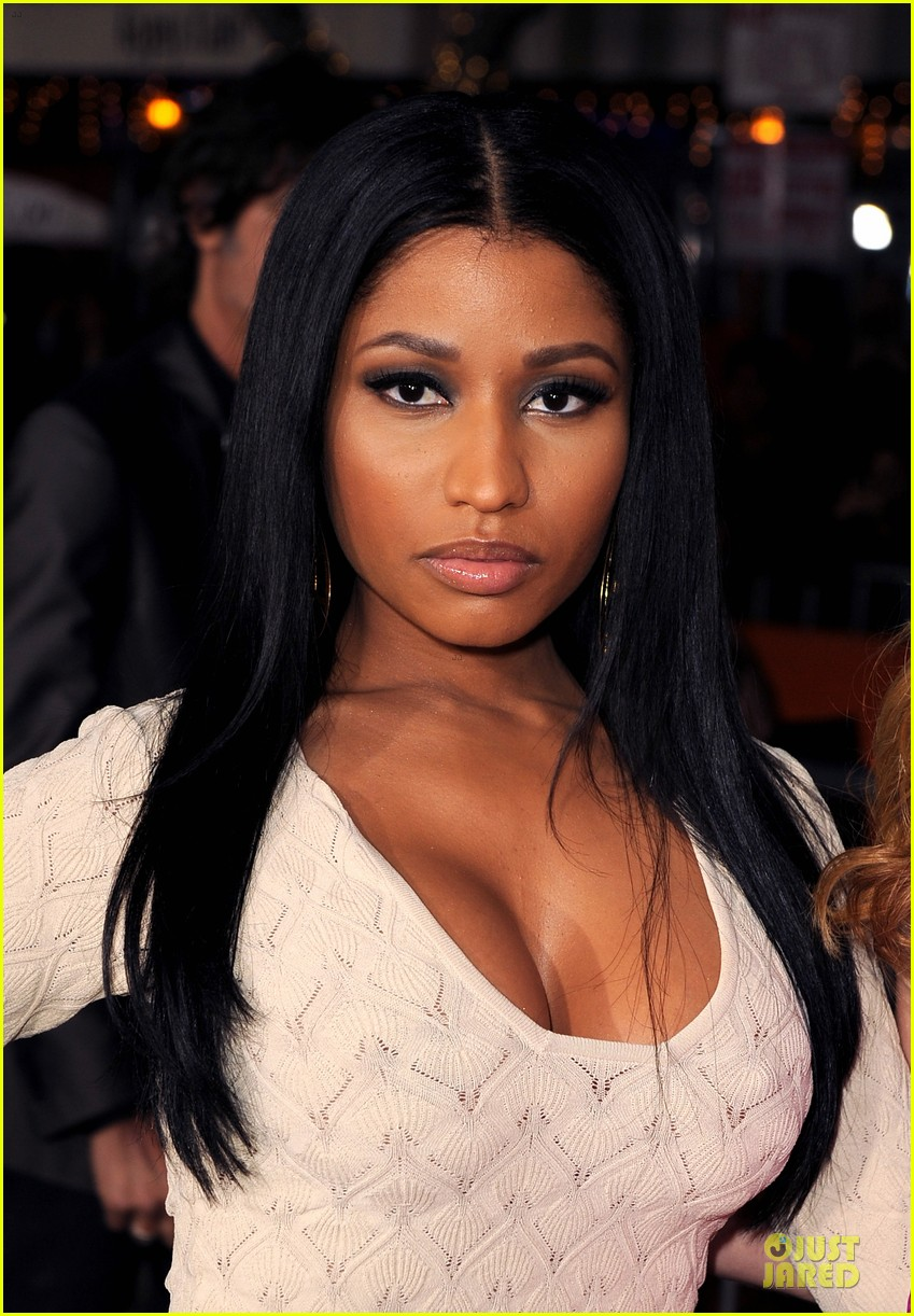 nicky minaj bootylicious at the other woman premiere 123096546