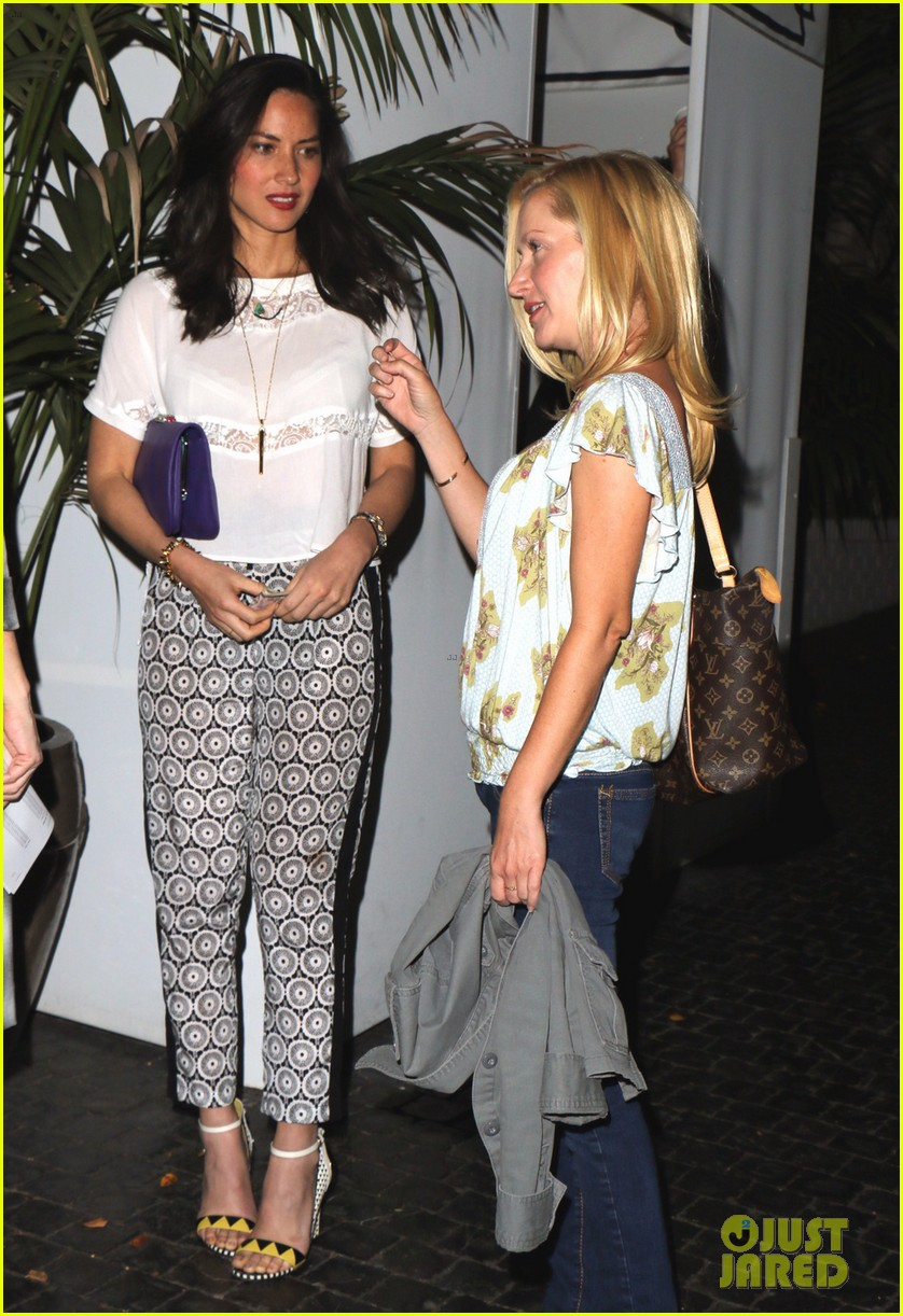 olivia munn girls night out at chateau marmont with angela kinsey 013088336