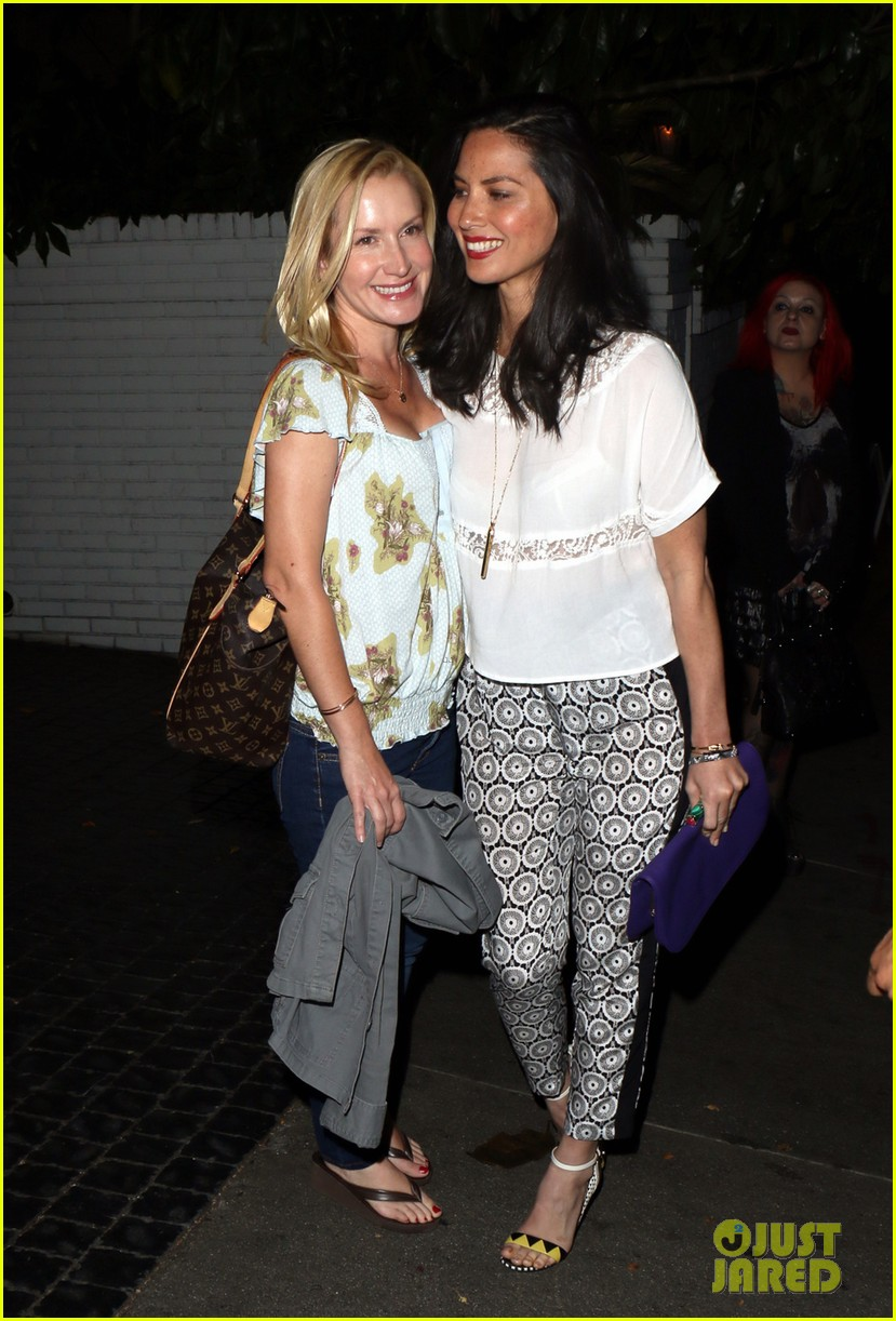 olivia munn girls night out at chateau marmont with angela kinsey 03