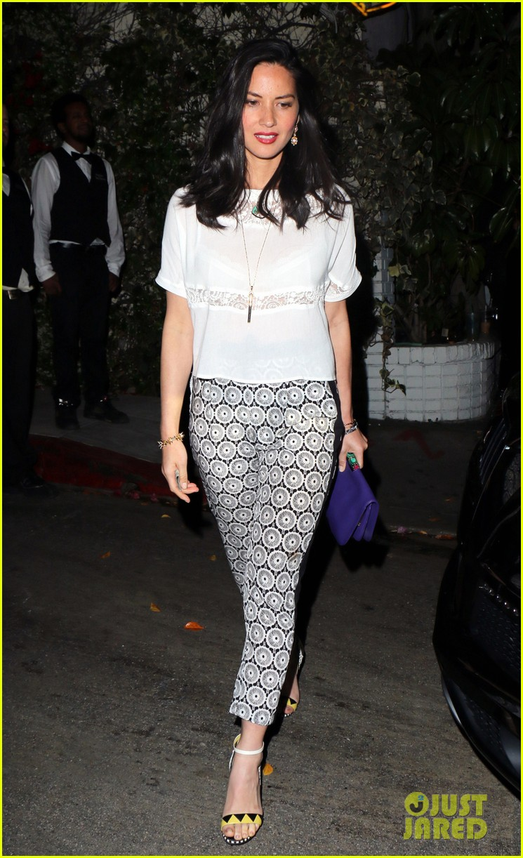 olivia munn girls night out at chateau marmont with angela kinsey 053088340