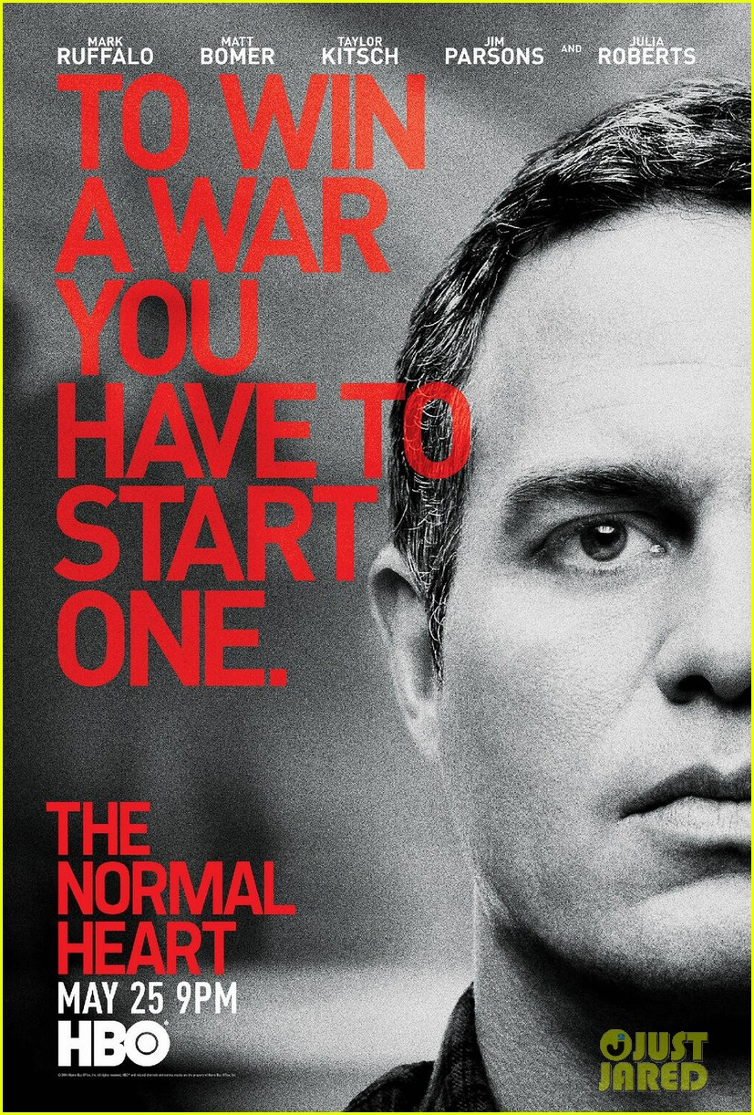 the normal heart teaser posters 043097955