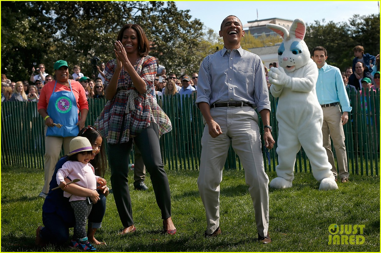 michelle obama white house easter egg roll 083096236