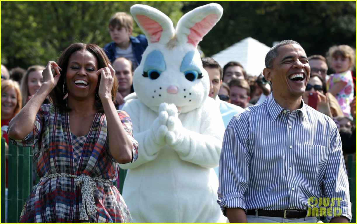 michelle obama white house easter egg roll 123096240
