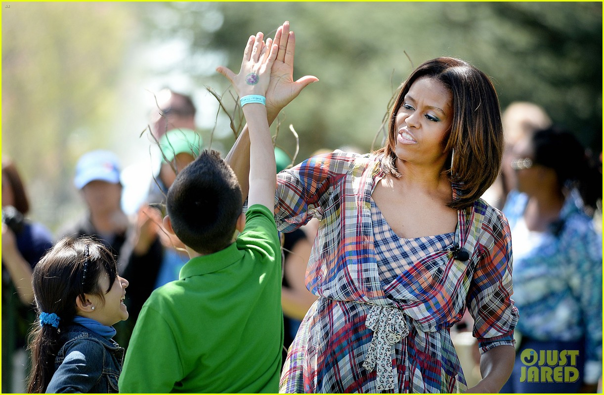 michelle obama white house easter egg roll 18