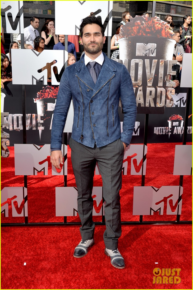 dylan obrien tyler hoechlin mtv movie awards 2014 03