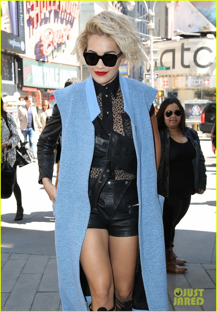 rita ora rocks three outfits to promote i will never let you down in nyc 08