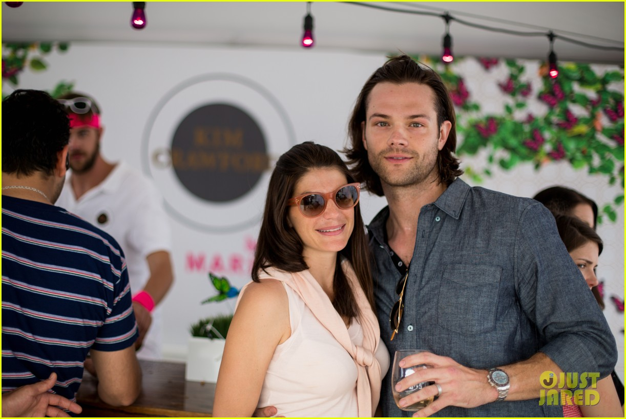 jared padalecki wife genevieve picture perfect couple austin food festival 033100567