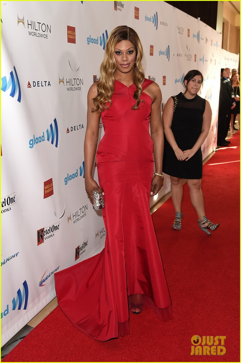 ellen page laverne cox glaad media awards 2014 063090246