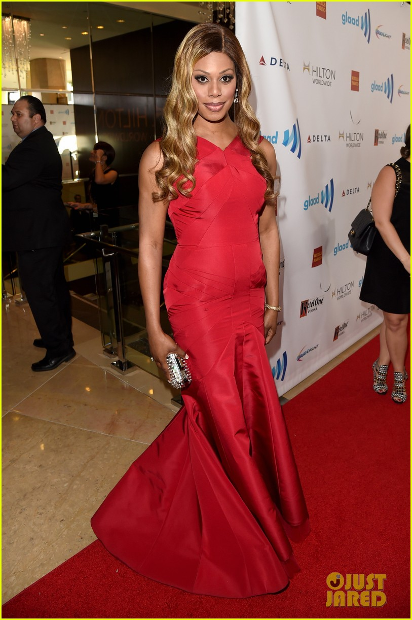 ellen page laverne cox glaad media awards 2014 10