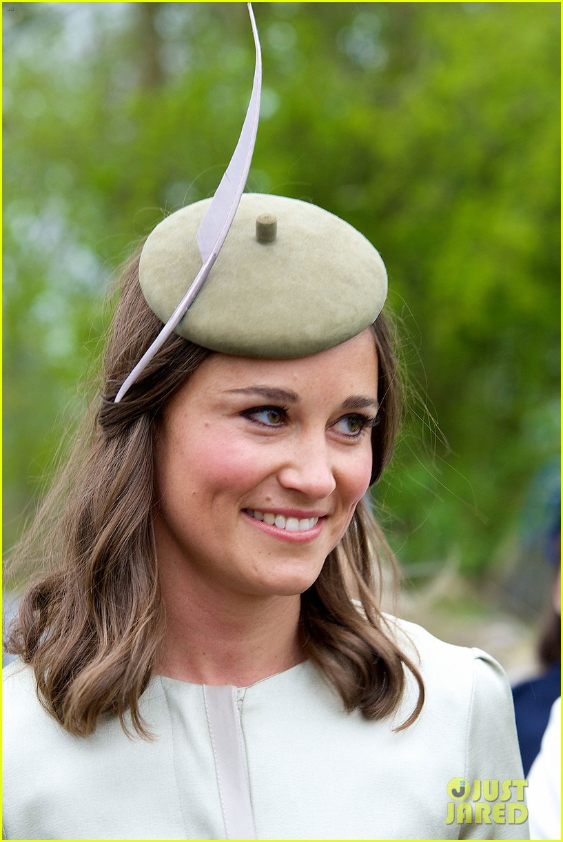 pippa middleton goes green for her friends wedding 203101749