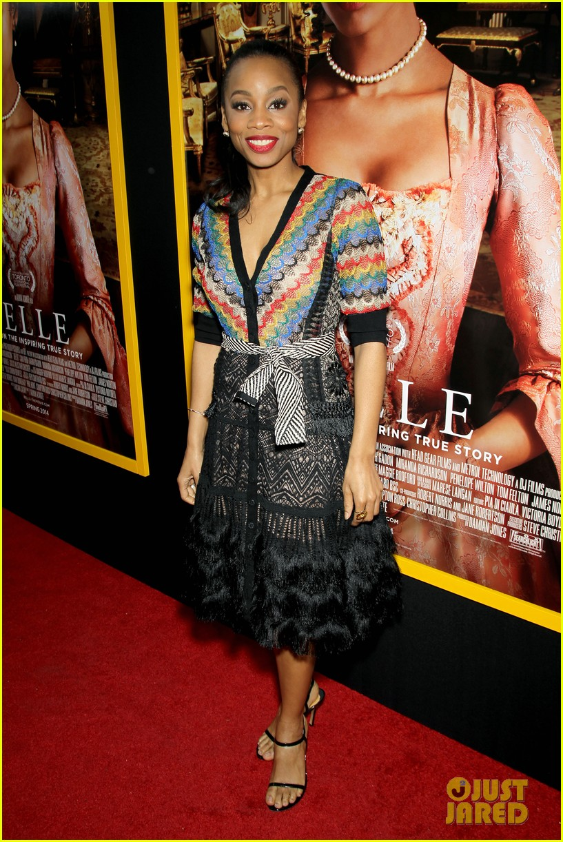 gugu mbatha raw is a green goddess at belle premiere 03