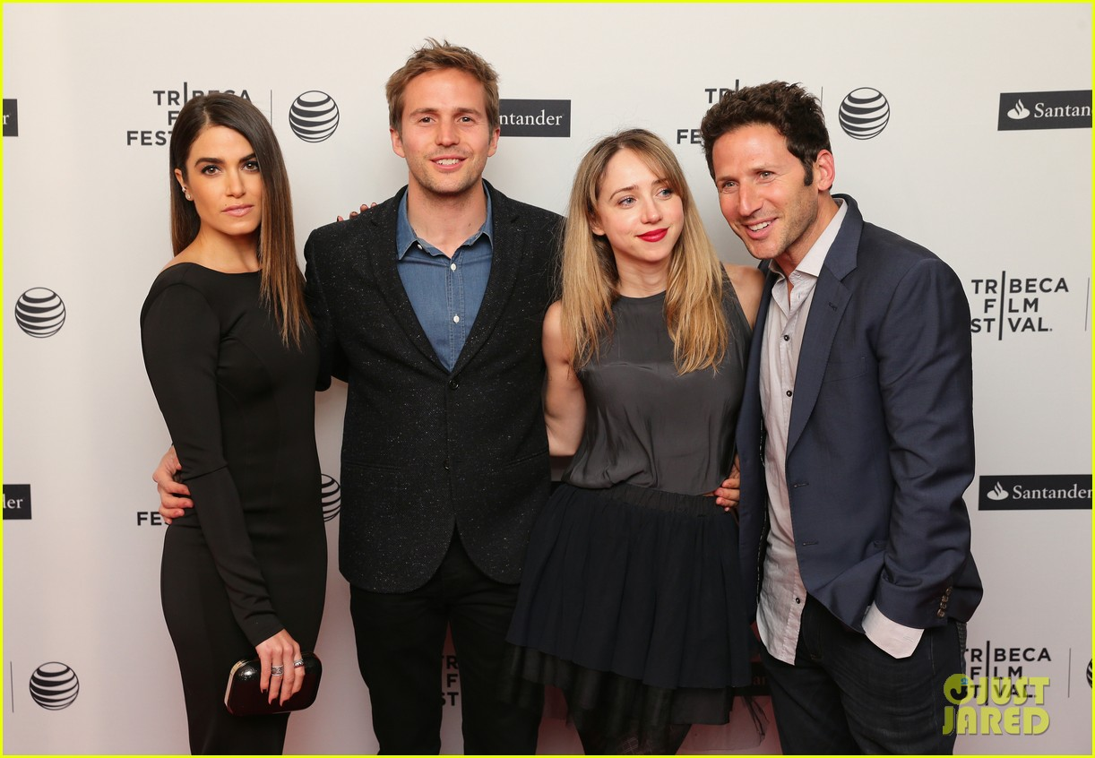 nikki reed wears a tight black dress looks amazing at tribeca premiere 133095918
