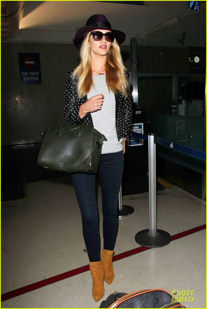 rosie huntington whiteley celebrate 27th birthday at lax 06