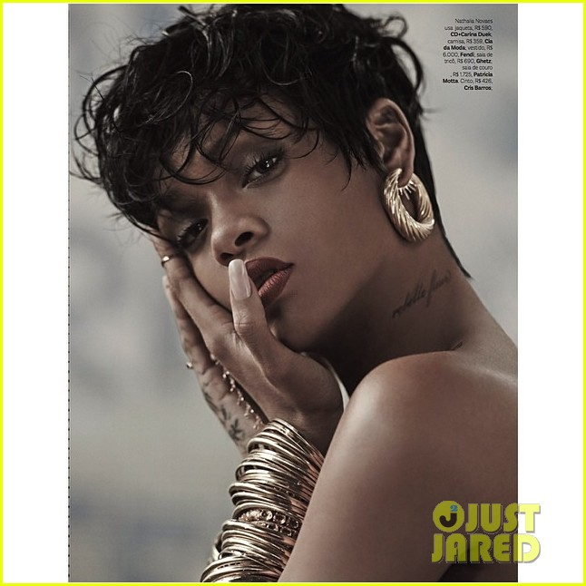 rihanna shares more sexy vogue brasil pics 02