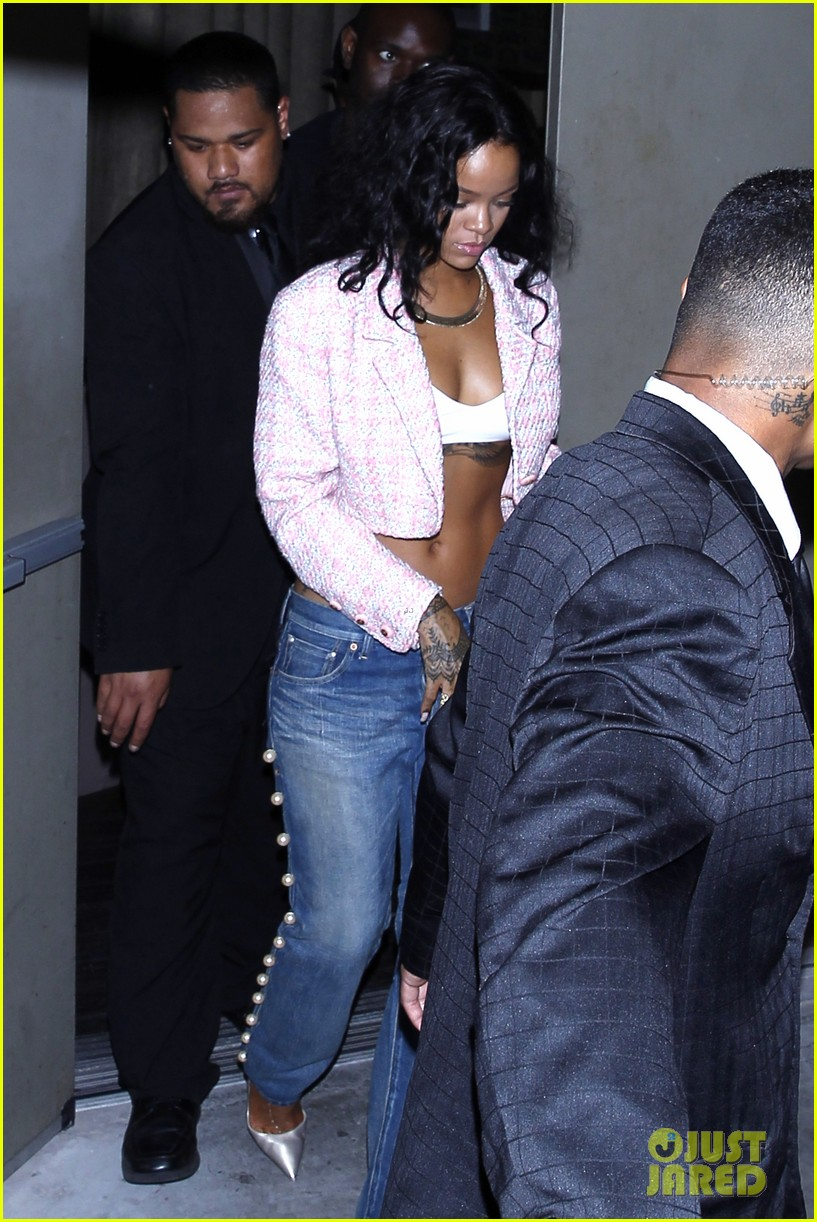 rihanna night out with drake at supperclub 053087408