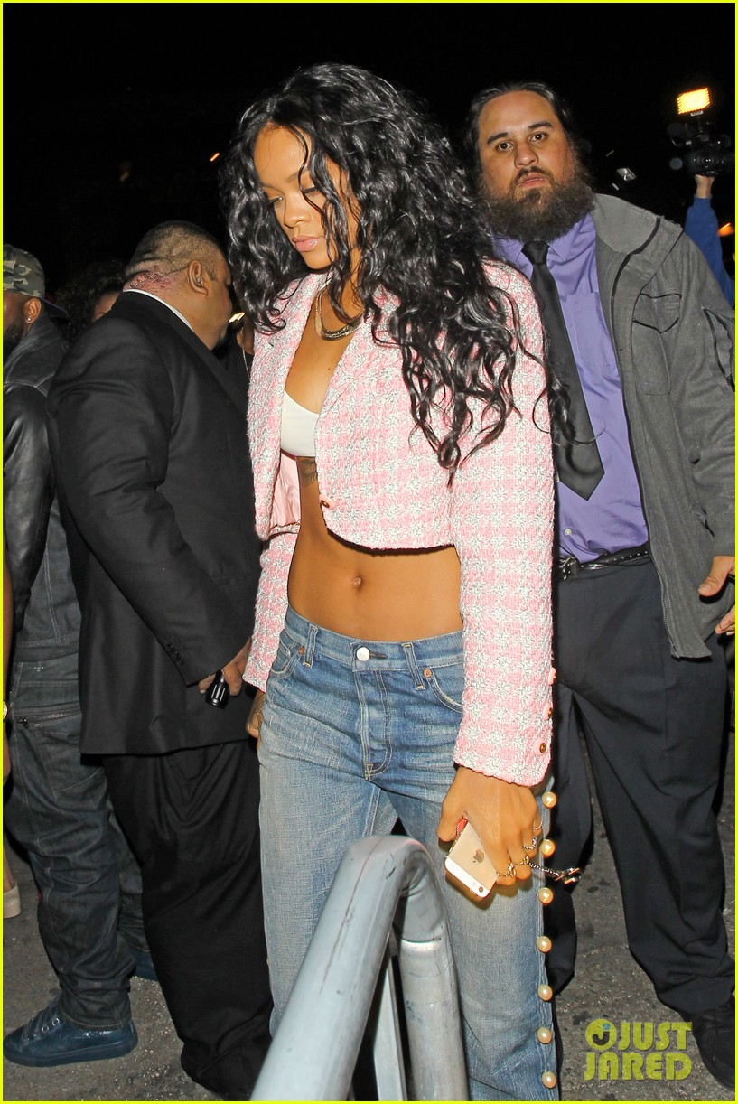 rihanna night out with drake at supperclub 073087410