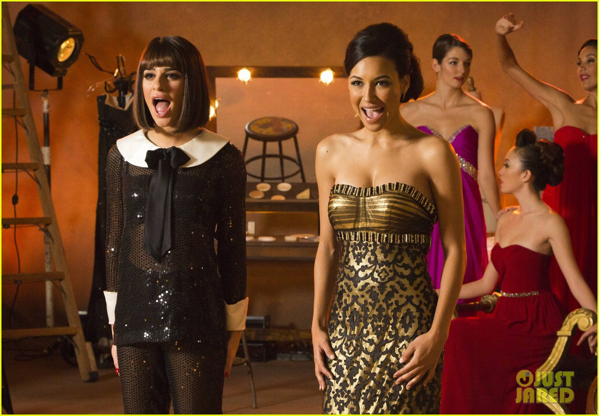 naya rivera not fired from glee 01