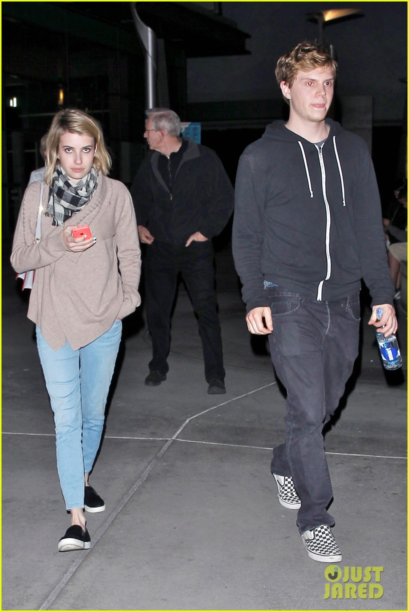 emma roberts evan peters havent started wedding planning just yet 013082908